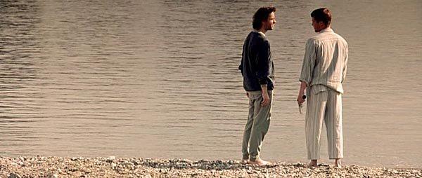 - Тебе в раю не о чем будет говорить. - Да, знаю. Я хочу на море, но... Мне страшновато. - Знаешь что? Бояться глупо