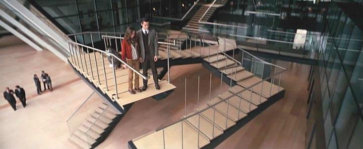 Бесконечная лестница, видишь? Парадокс...