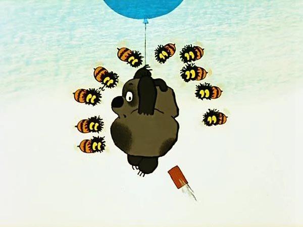 картинки с винни пух шариком